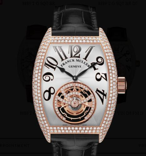 Franck Muller Giga Tourbillon Replica Watches for sale Cheap Price 8889 T G DF VIN D8 FM D 5N