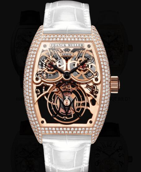 Franck Muller Giga Tourbillon Replica Watches for sale Cheap Price 8889 T G SQT BR D7 5N
