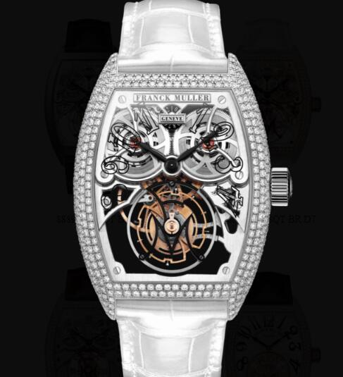 Franck Muller Giga Tourbillon Replica Watches for sale Cheap Price 8889 T G SQT BR D7 OG
