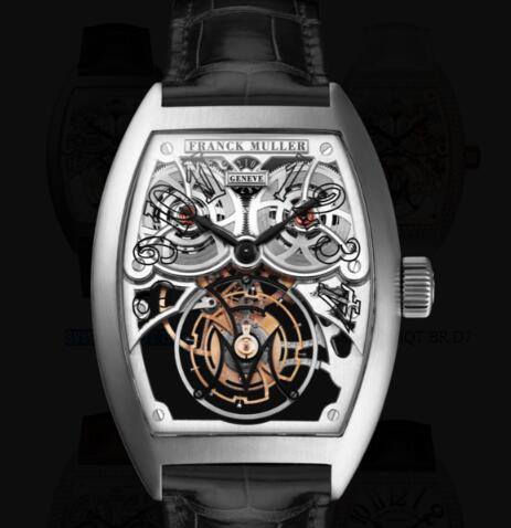 Franck Muller Giga Tourbillon Replica Watches for sale Cheap Price 8889 T G SQT BR OG