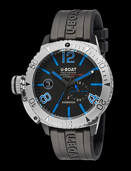 U Boat Dive Replica Watch SOMMERSO BLUE 9014 Dive