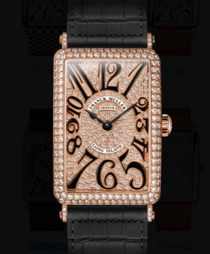 Franck Muller Long Island Ladies Replica Watch for Sale Cheap Price 952 QZ D CD
