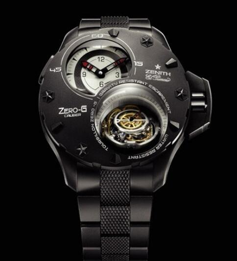 Replica Zenith Watch Zenith Defy Xtreme Tourbillon Zero-G 96.0525.8800/21.M529 Titanium