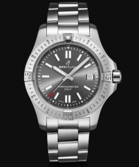 Breitling Colt 41 Automatic Stainless Steel Men Replica Watch A17313101F1A1