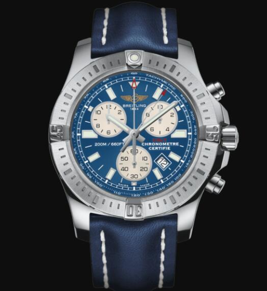 Breitling Colt Chronograph 44 Stainless Steel - Blue Men Replica Watch A73388111C1X1