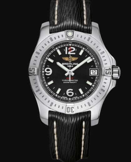 Breitling Colt 36 Stainless Steel - Black Lady Replica Watch A74389111B1X1