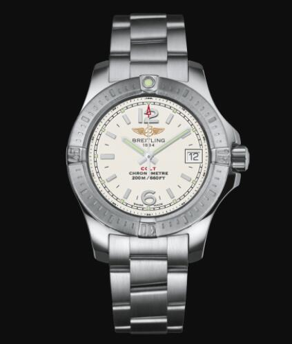Breitling Colt Lady 33 Stainless Steel - Silver Replica Watch A77388111G1A1