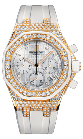 26092OK.ZZ.D010CA.01 Fake Audemars Piguet Ladies Royal Oak Offshore Chronograph watch