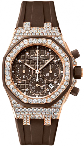 26092OK.ZZ.D080CA.01 Audemars Piguet Ladies Royal Oak Offshore Chronograph Fake watch