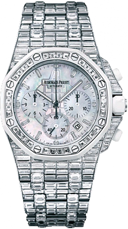 26114CK.ZZ.9181BC.01 Fake Audemars Piguet Ladies Royal Oak Offshore Chronograph watch