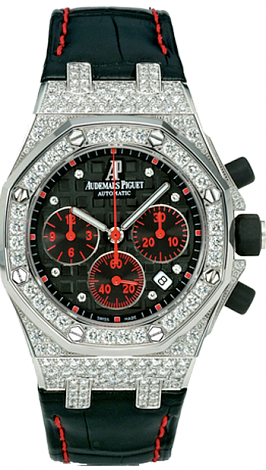 26271BC.ZZ.D002CR.01 Fake Audemars Piguet Ladies Royal Oak Offshore Las Vegas Strip watch