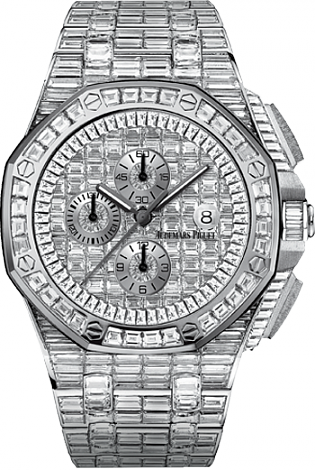Fake Audemars Piguet Ladies Royal Oak Offshore 26403BC.ZZ.8044BC.01 Chronograph watch