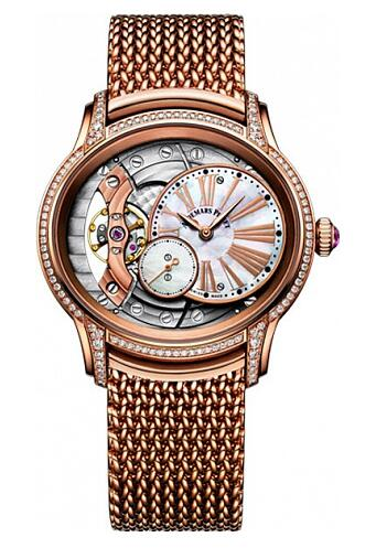 Replica Audemars Piguet 77247OR.ZZ.1272OR.01 Millenary Hand Wound Ladies watch