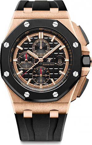 26401RO.OO.A002CA.02 Fake Audemars Piguet Royal Oak Offshore Chronograph 44mm watch