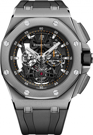 26407TI.GG.A002CA.01 Fake Audemars Piguet Royal Oak Offshore Tourbillon Chronograph 44 mm watch