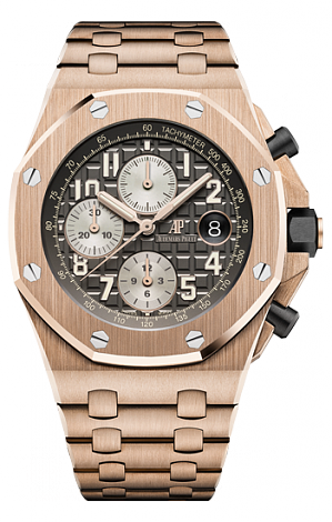 26470OR.OO.1000OR.02 Fake Audemars Piguet Royal Oak Offshore Chronograph 42 mm watch