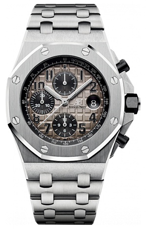 26470PT.OO.1000PT.01 Fake Audemars Piguet Royal Oak Offshore Chronograph watch