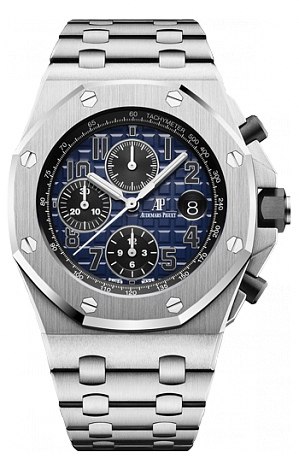 26470PT.OO.1000PT.02 Fake Audemars Piguet Royal Oak Offshore Chronograph 42 mm watch