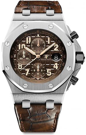 26470ST.OO.A820CR.01 Fake Audemars Piguet Royal Oak Offshore Chronograph watch