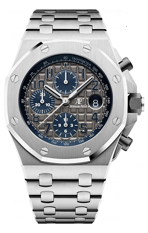 26474TI.OO.1000TI.01 Fake Audemars Piguet Royal Oak Offshore Chronograph 42 mm QEII Cup 2018 watch