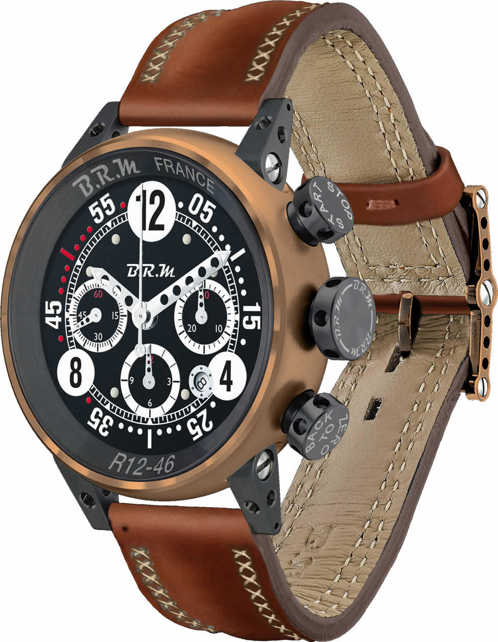 BRM BRONZE Replica Watch BRM R12-46 Bronze BRM-R12-46-BRONZE