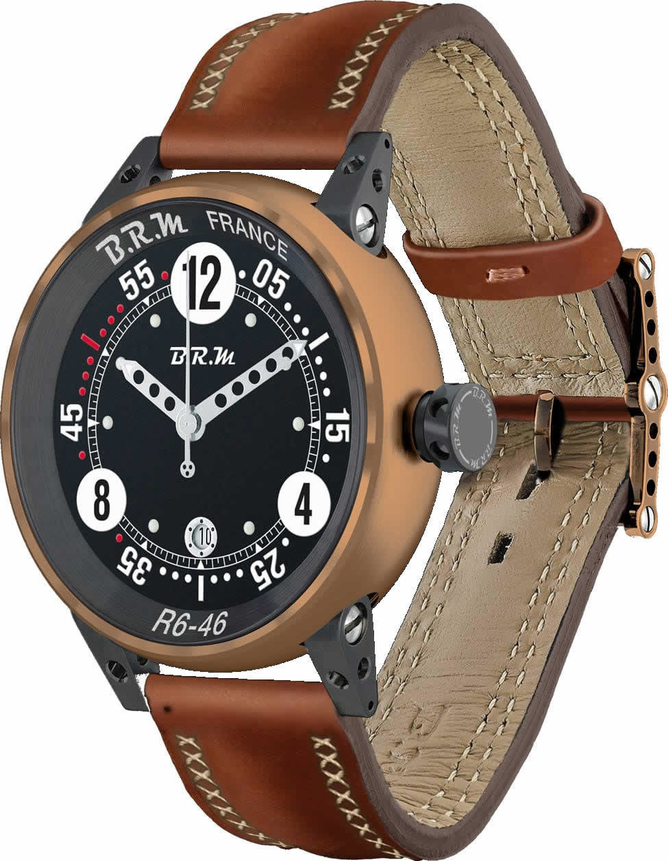 BRM BRONZE Replica Watch BRM R6-46 Bronze BRM-R6-46-BRONZE