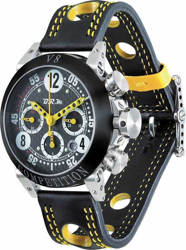 BRM V8 COMPETITION RACING Replica Watch BRM V8-44 Competition Racing BRM-V8-44-COMP-Y