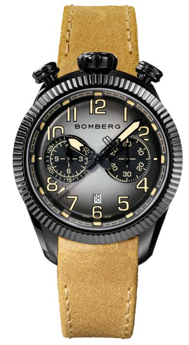 Bomberg BB-68 SMOKED BLACK NS44CHPBA.200.9 Fake watch