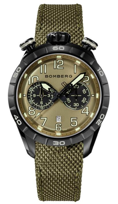 Bomberg BB-68 GREEN NS44CHPBA.207.9 Fake watch
