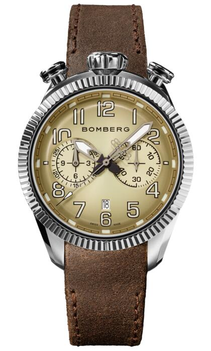 Bomberg BB-68 NS44CHSS.201.9 SMOKED GRAY CHRONOGRAPH GENT Fake watch