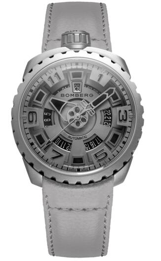 Bomberg Bolt-68 gray mat BS45ASS.045-6.3 self-winding watch price
