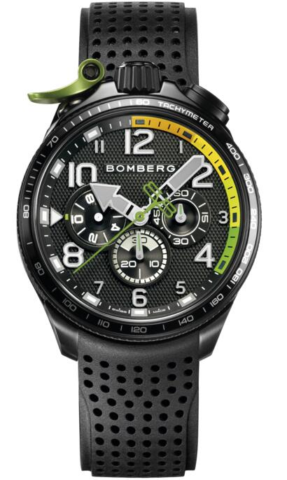 Bomberg Bolt-68 BS45CHPBA.059-1.10 Racing Replica mens watch