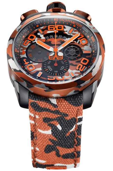 Replica Bomberg Bolt-68 BS45CHPCA.047.3 Unisex watch review