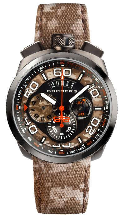 Replica Bomberg Bolt-68 BS45CHPGM.018.3 watch review