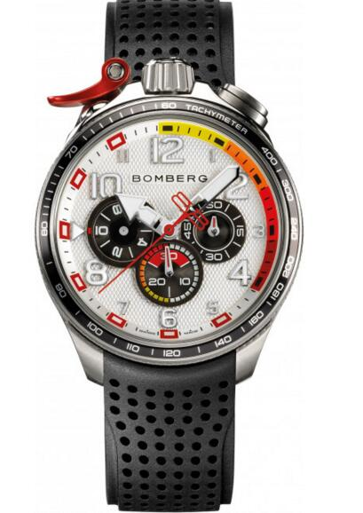 BS45CHSP.059-3.10 Bomberg Bolt-68 Racing Chronograph Men Watch replica
