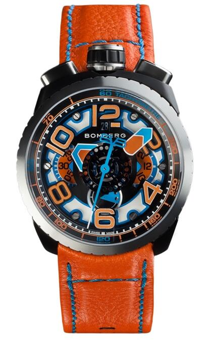 Bomberg Bolt-68 BS47CHASP.041-4.3 Chronograph fake watches uk