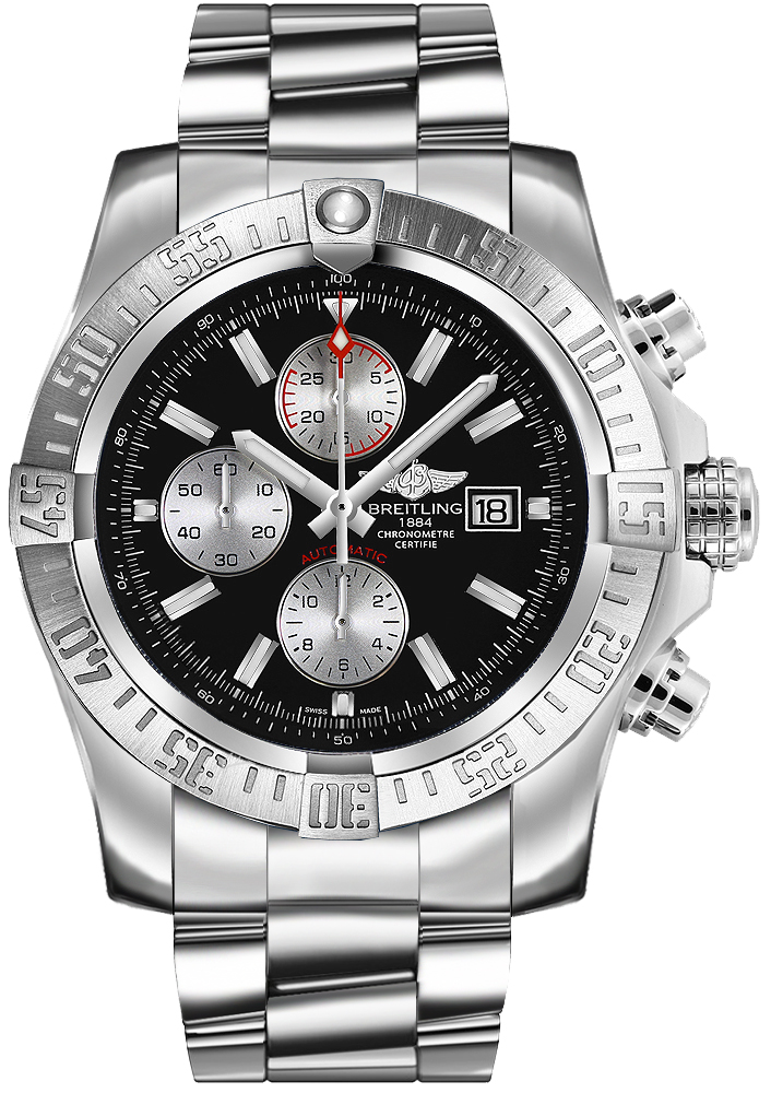 Breitling Super Avenger II Chronograph Men's Watch A13371111B1A1 replica