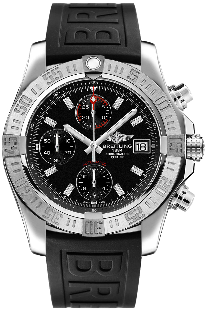 replica Breitling Avenger II Volcano Black Dial Men's Watch A13381111B1S