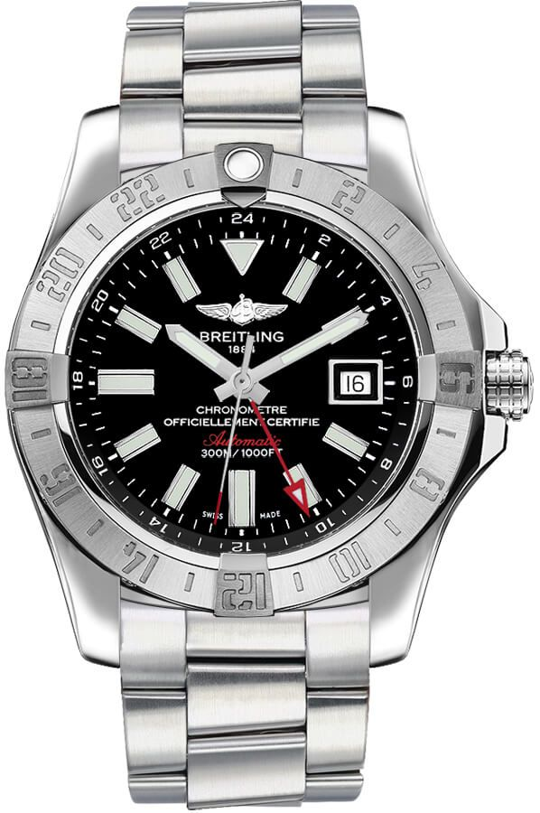 Breitling Avenger II GMT Automatic Men's Watch A3239011/BC35-173A fake