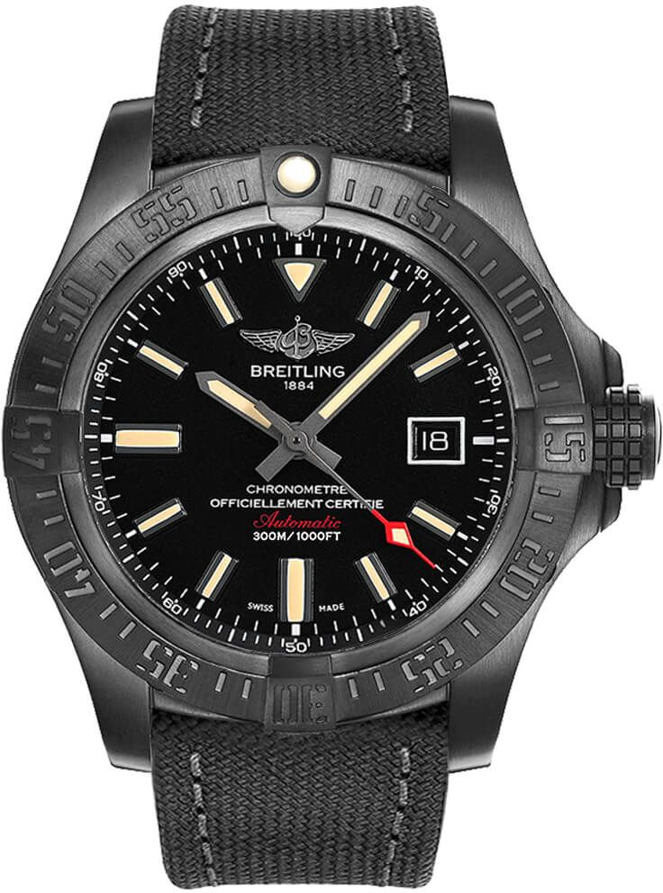 Breitling Avenger Blackbird 48mm Men's Watch V17310101B1W1 for sale