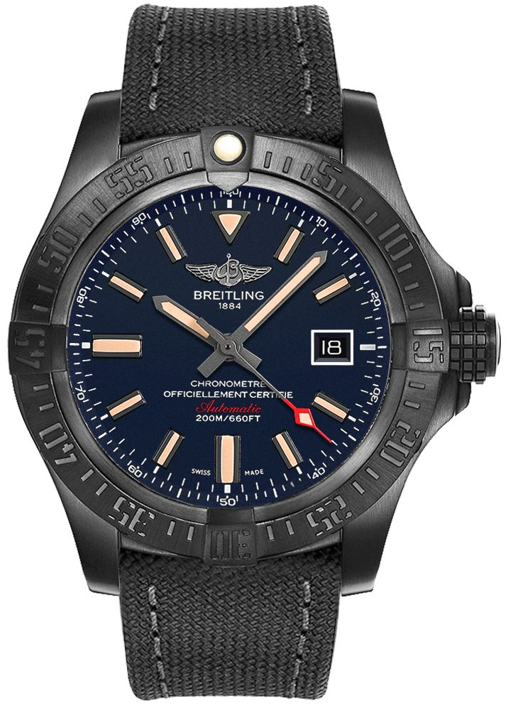 fake Breitling Avenger Blackbird V173104A/CA23-100W men's watch