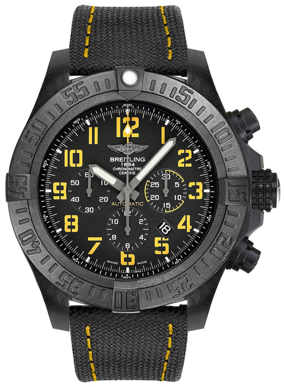 fake Breitling Avenger Hurricane 50mm Men's Watch XB01701A/BF92-113W