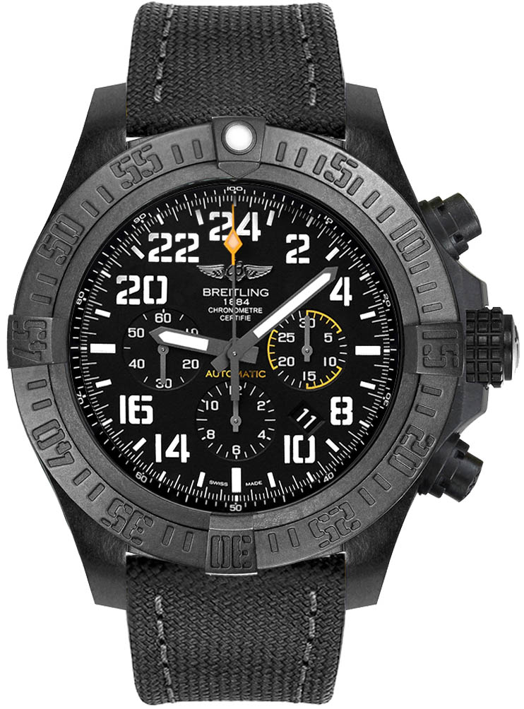 fake Breitling Avenger Hurricane Black Dial Automatic Men's Watch XB1210E41B1W1