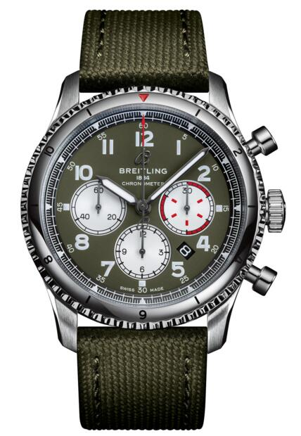 Breitling AB0119 Aviator 8 B01 Chronograph 43 Curtiss Warhawk Replica watch