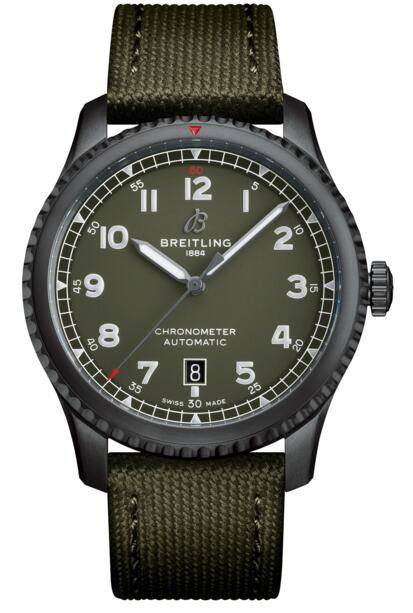 Breitling Aviator 8 Replica M173152A Automatic 41 Curtiss Warhawk watch