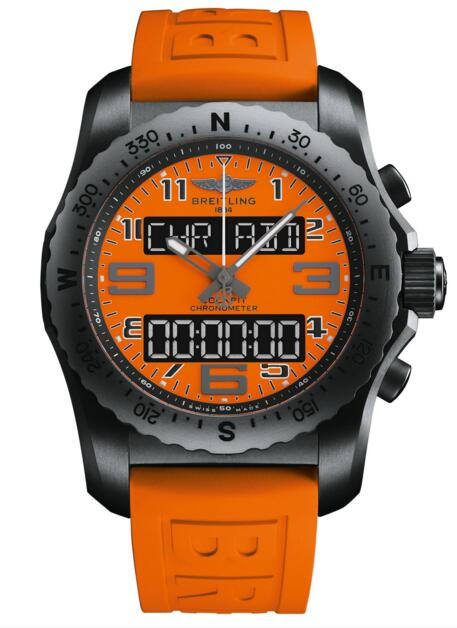 Fake Breitling VB50106A1O1S1 Cockpit B50 Orbiter Limited Edition watch