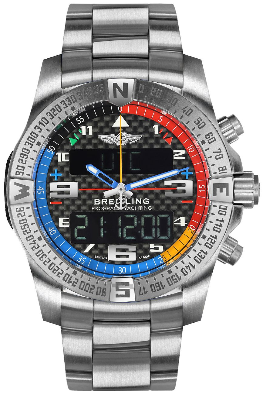 Breitling Exospace B55 Yachting EB5512221B1E1 mens watches