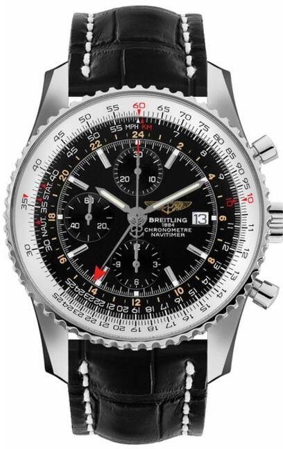 Replica Breitling Navitimer World Chronograph GMT A2432212-B726-760P watch