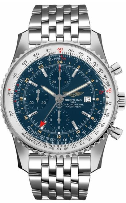 Replica Breitling Navitimer 46mm Blue Dial A24322121C1A1 watch