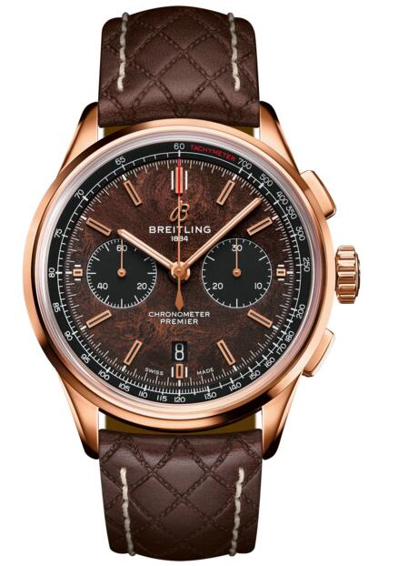 Breitling Premier B01 Replica RB01181A1Q1X1 Chronograph Bentley Centenary Limited Edition watch